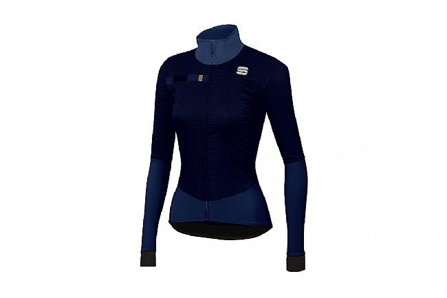 Sportful Womens Bodyfit Pro Jacket Blue/Gold