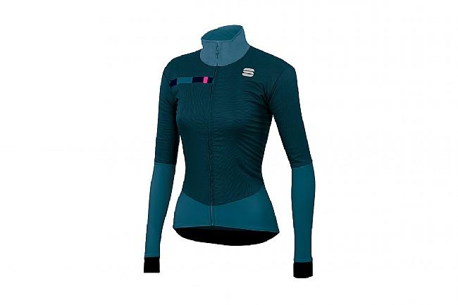 Sportful Womens Bodyfit Pro Jacket Blue Corsair/Bubble Gum