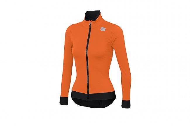 Sportful Womens Fiandre Medium Jacket Orange SDR