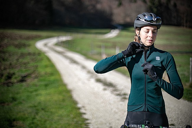 Sportful Womens Monocrom Thermal Jersey Sportful Womens Monocrom Thermal Jersey