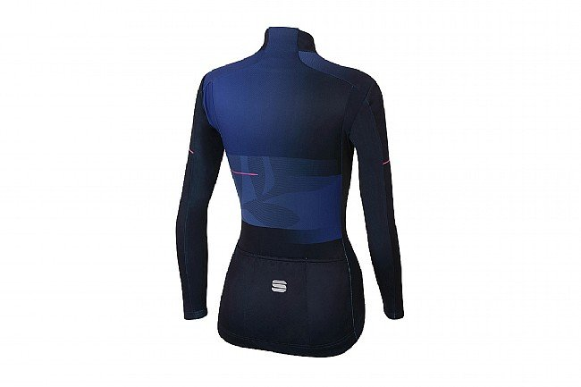 Sportful Womens Oasis Thermal Jersey Blue