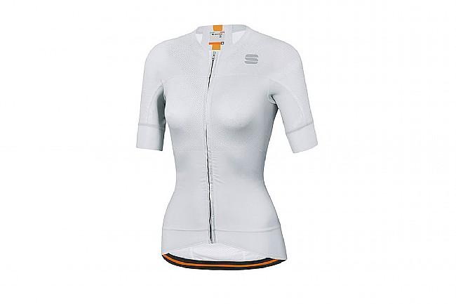 Sportful Womens Bodyfit Evo Jersey White/Gold