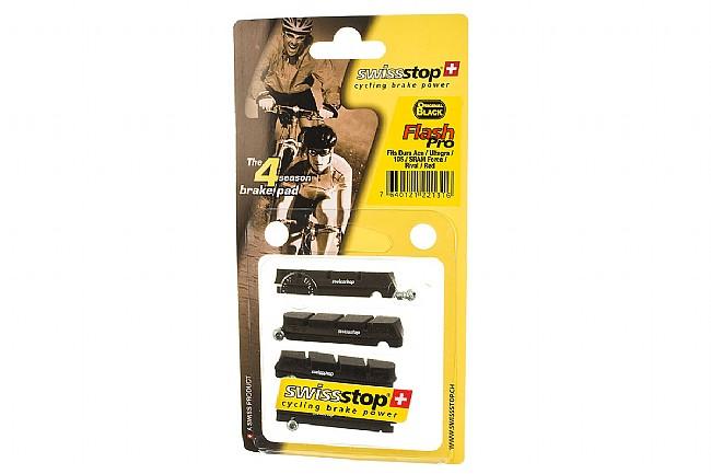 SwissStop FlashPro Shimano Brake Pads - Original Black SwissStop FlashPro Shimano Brake Pads - Original Black