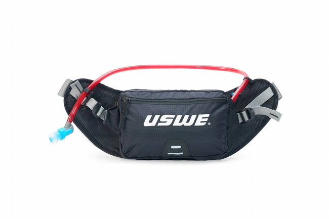 USWE Zulo 2 Hydration Hip Pack Carbon Black