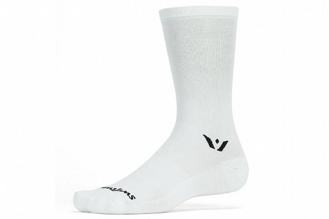 Swiftwick Aspire Seven Sock White