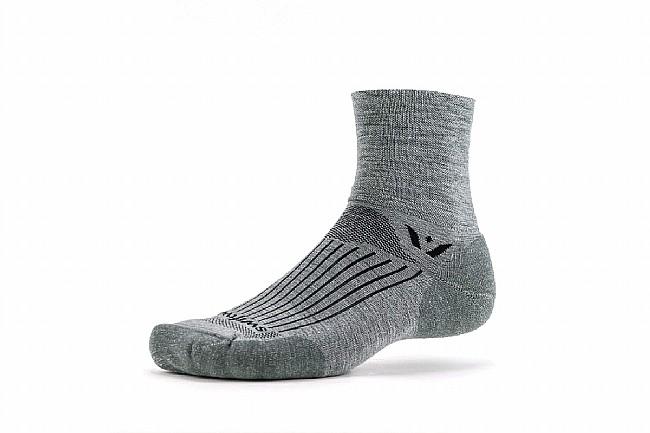 Swiftwick Pursuit Four Merino Wool Sock Heather