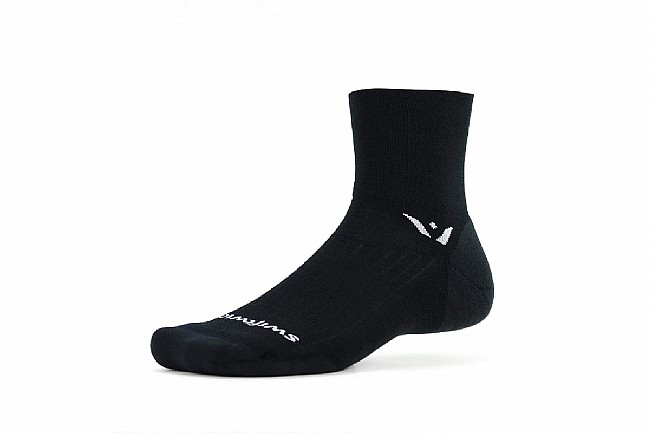 Swiftwick Pursuit Four Merino Wool Sock Black