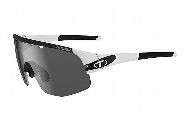 Tifosi Sledge Lite Sunglasses Matte White - Smoke/AC Red/Clear