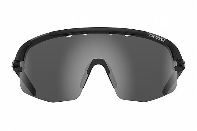 Tifosi Sledge Lite Sunglasses Matte Black - Smoke/AC Red/Clear