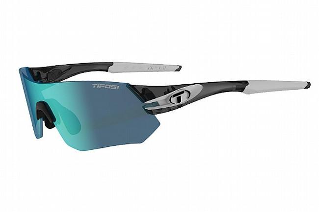 Tifosi Tsali Sunglasses Crystal Smoke/White - Clarion Blue/AC Red/Clear