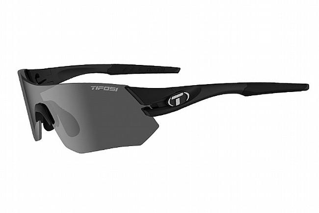 Tifosi Tsali Sunglasses Matte Black - Smoke/AC Red/Clear