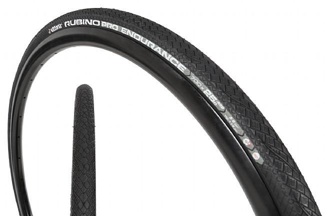 Vittoria Rubino Pro Endurance G+ Road Tire Black - 700 x 23 mm