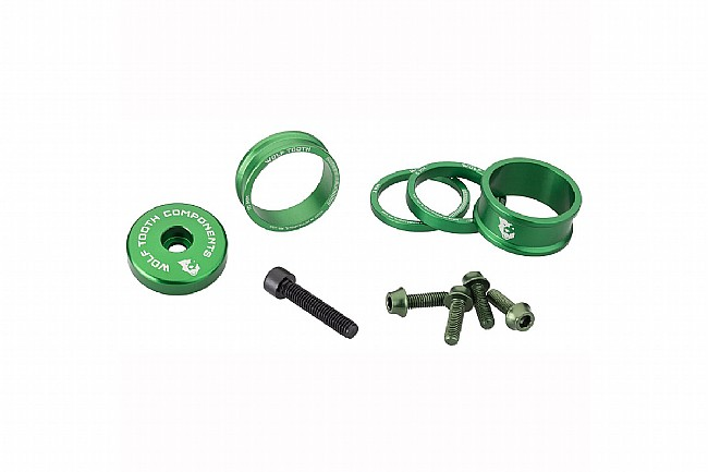 Wolf Tooth Components Anodized Bling Kit Green