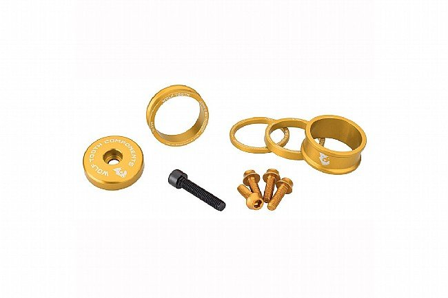 Wolf Tooth Components Anodized Bling Kit Gold