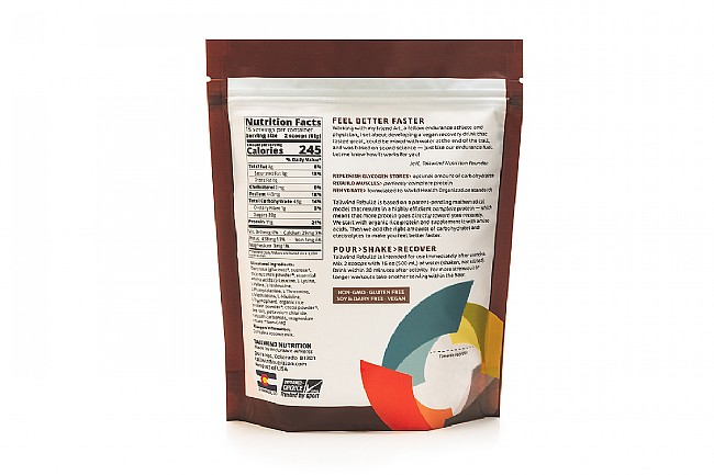 Tailwind Nutrition Rebuild Recovery (15 Servings) Chocolate Nutrition Facts