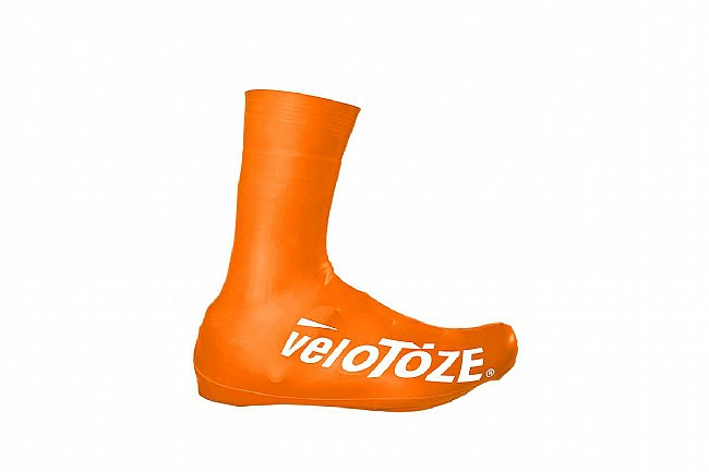 Velotoze Tall Shoe Cover Road 2.0 Viz-Orange