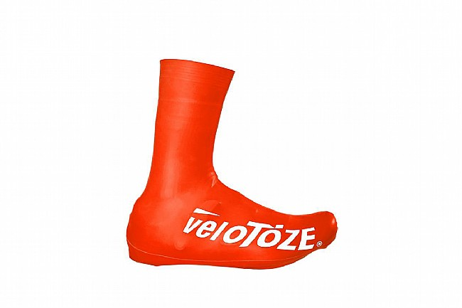 Velotoze Tall Shoe Cover Road 2.0 Red