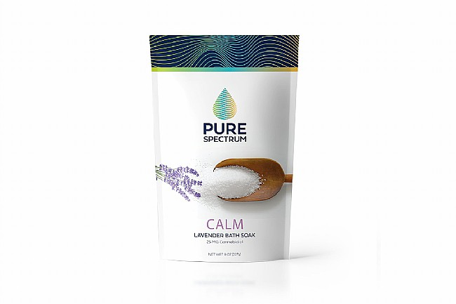 Pure Spectrum Calm: Lavender Relaxing CBD Bath Soak Pure Spectrum Calm: Lavender Relaxing Soak