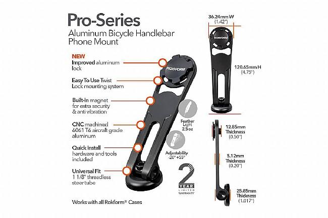 Rokform Pro-Series Aluminum Bike Mount Kit Rokform Pro-Series Aluminum Bike Mount Kit