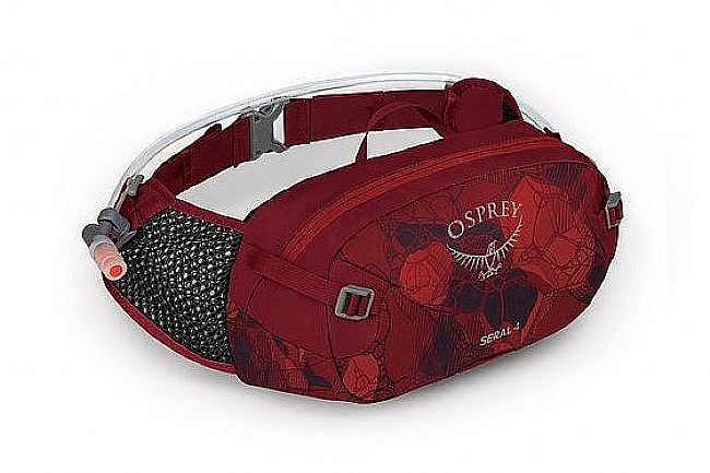 Osprey Seral 4 Lumbar Hydration Pack Claret Red