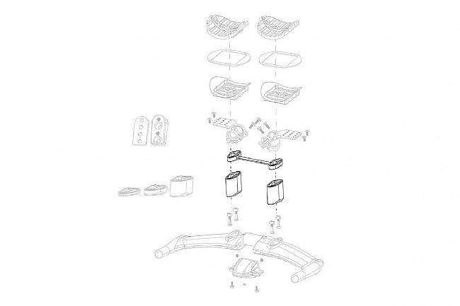 Zipp Vuka Aero High Stack Kit for C1 Zipp Vuka Aero High Stack Kit for C1