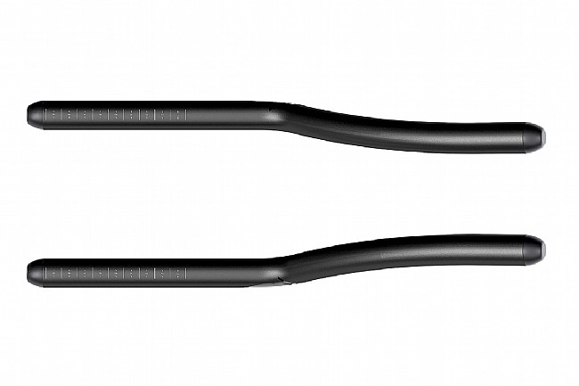 Zipp Vuka Alumina Evo Extensions 110mm Rise, 22.2 Clamp, 360mm Length