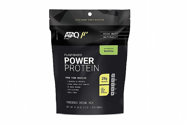 ATAQ Power Protein  Matcha Green Tea - 14 servings