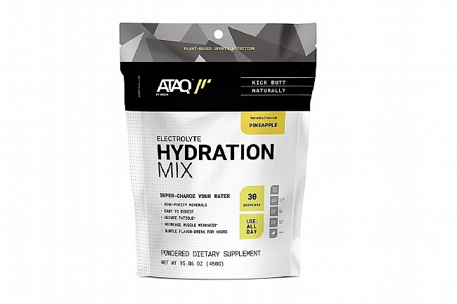 ATAQ Electrolyte Hydration Mix Pineapple - 30 servings